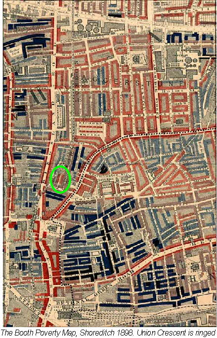Shoreditch Map: Booth Walks
